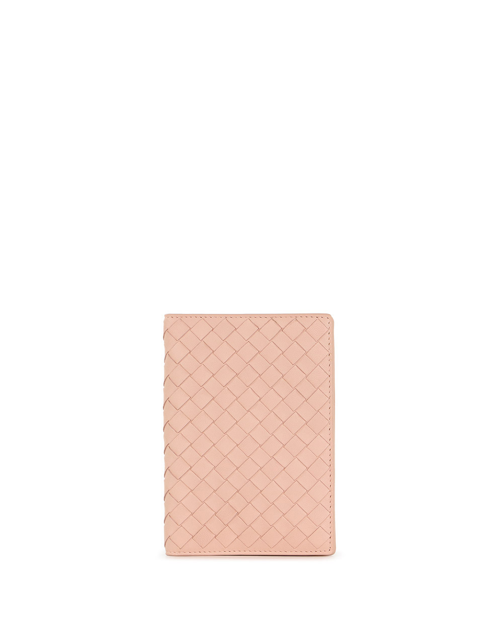 Braided Lamb Leather Passport Case