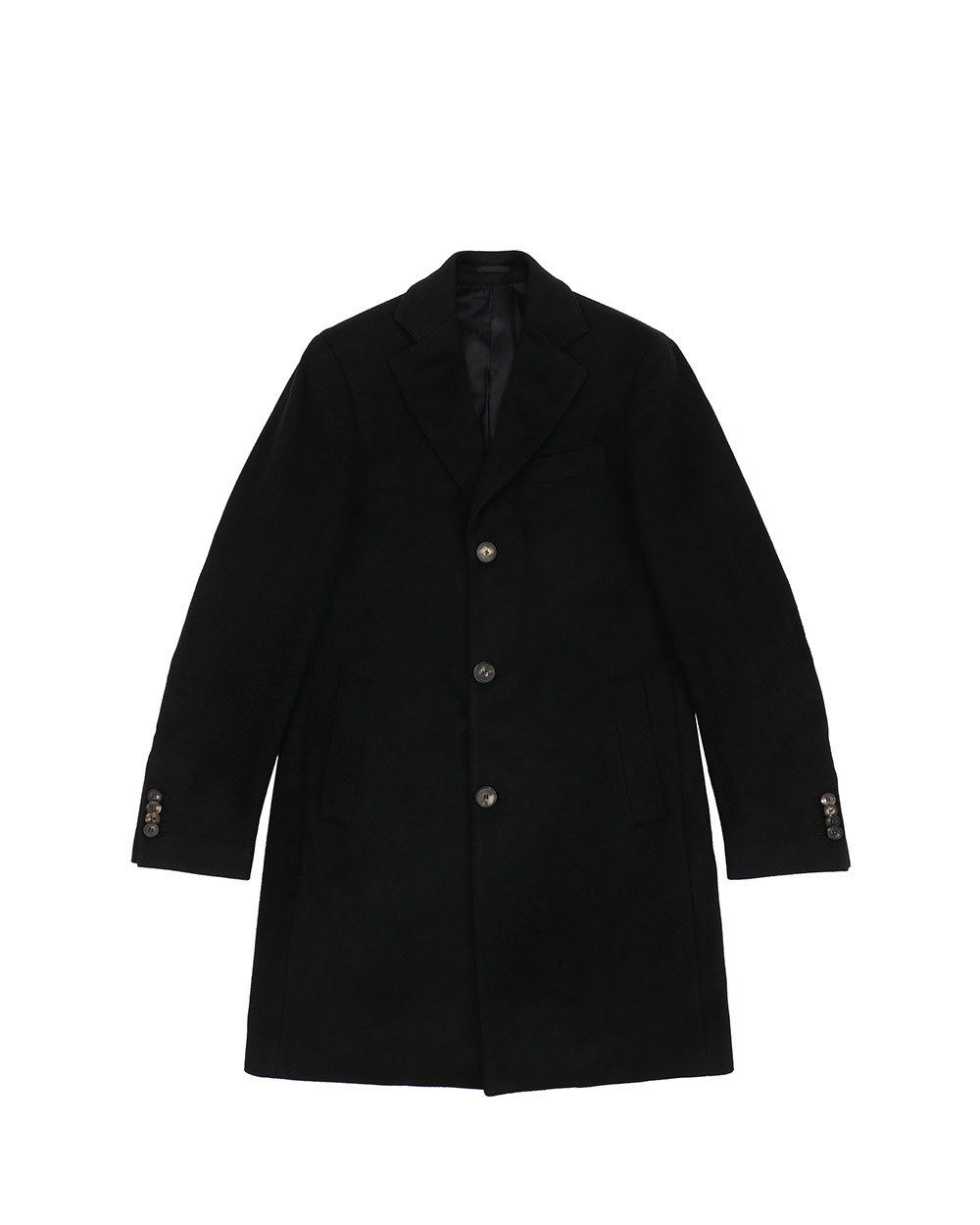 Cotton Single-Breasted Trench Coat