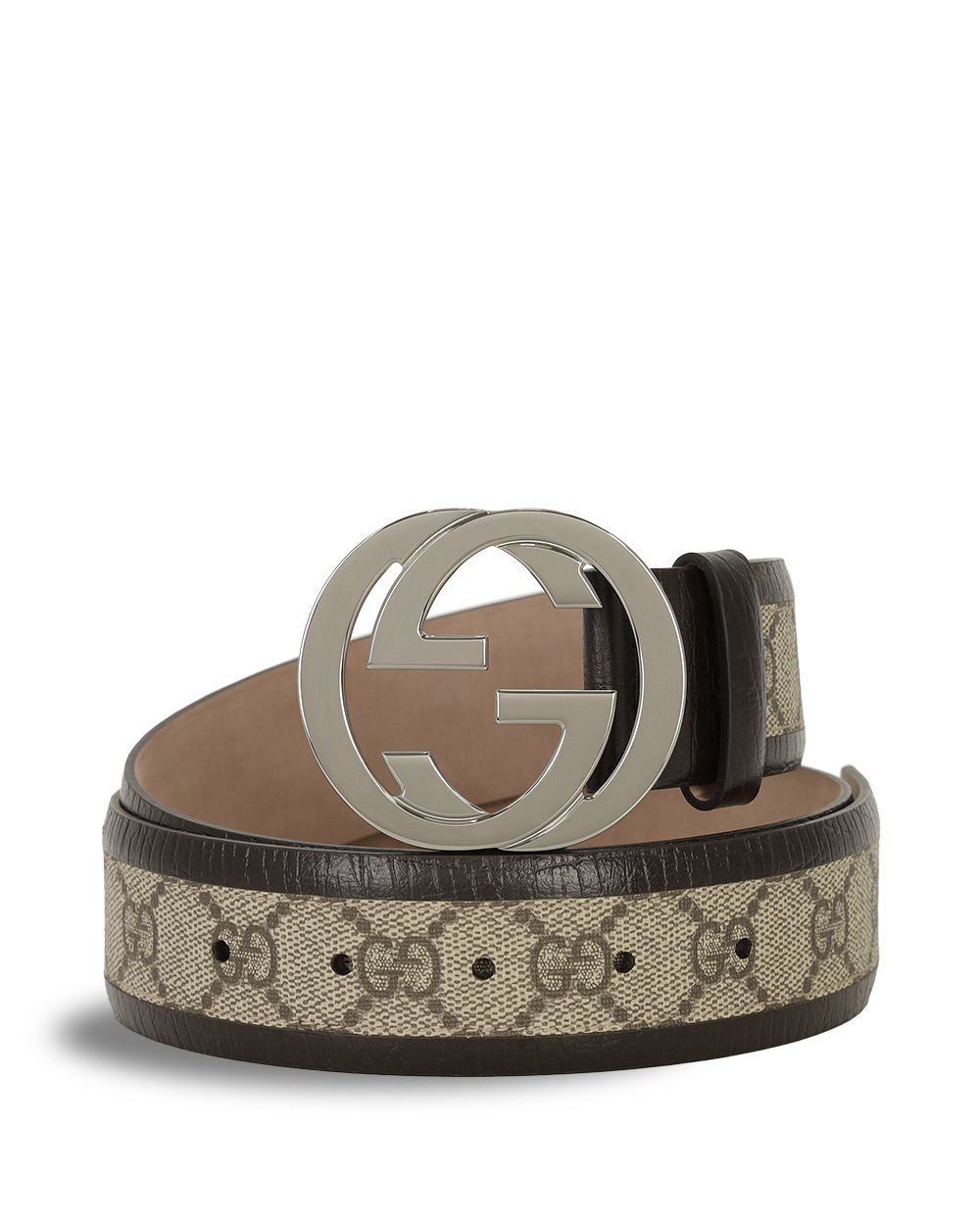 Double G Embossed Buckle Belt
