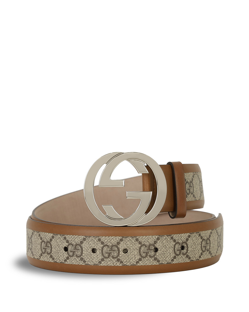 Double G Buckle PVC Belt