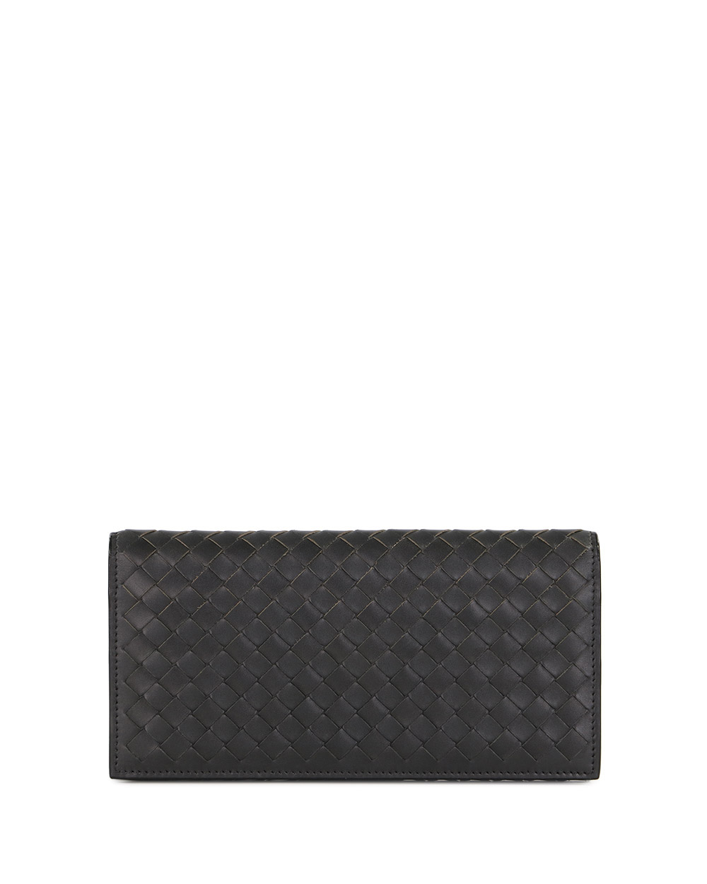 Woven Leather Wallet