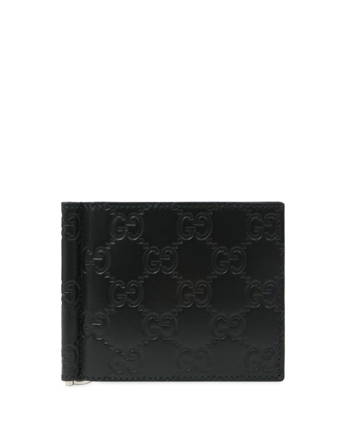 GG Signature Money Clip Wallet