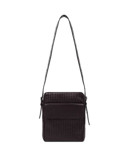 Intrecciato Leather Shoulder Bag