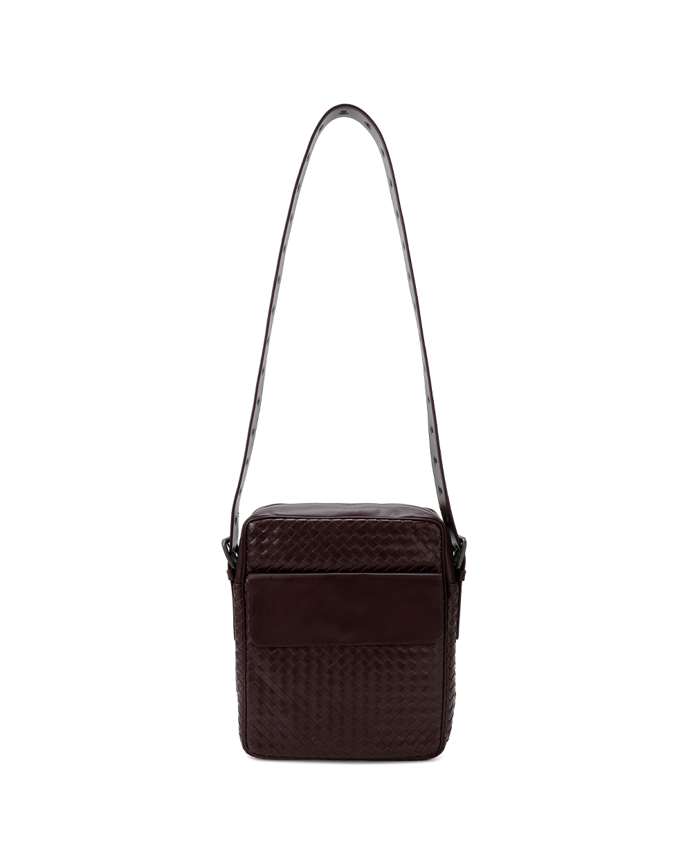 Woven Leather Cross-body Bag 1