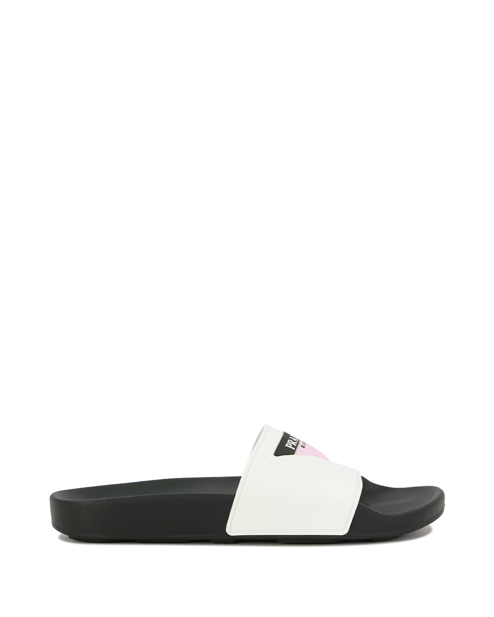 Flat Sandals with Prada Logo