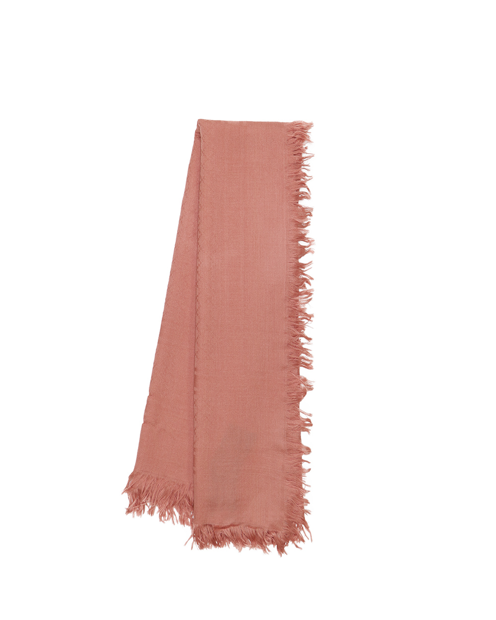 Jacquard Wool And Silk-Blend Scarf