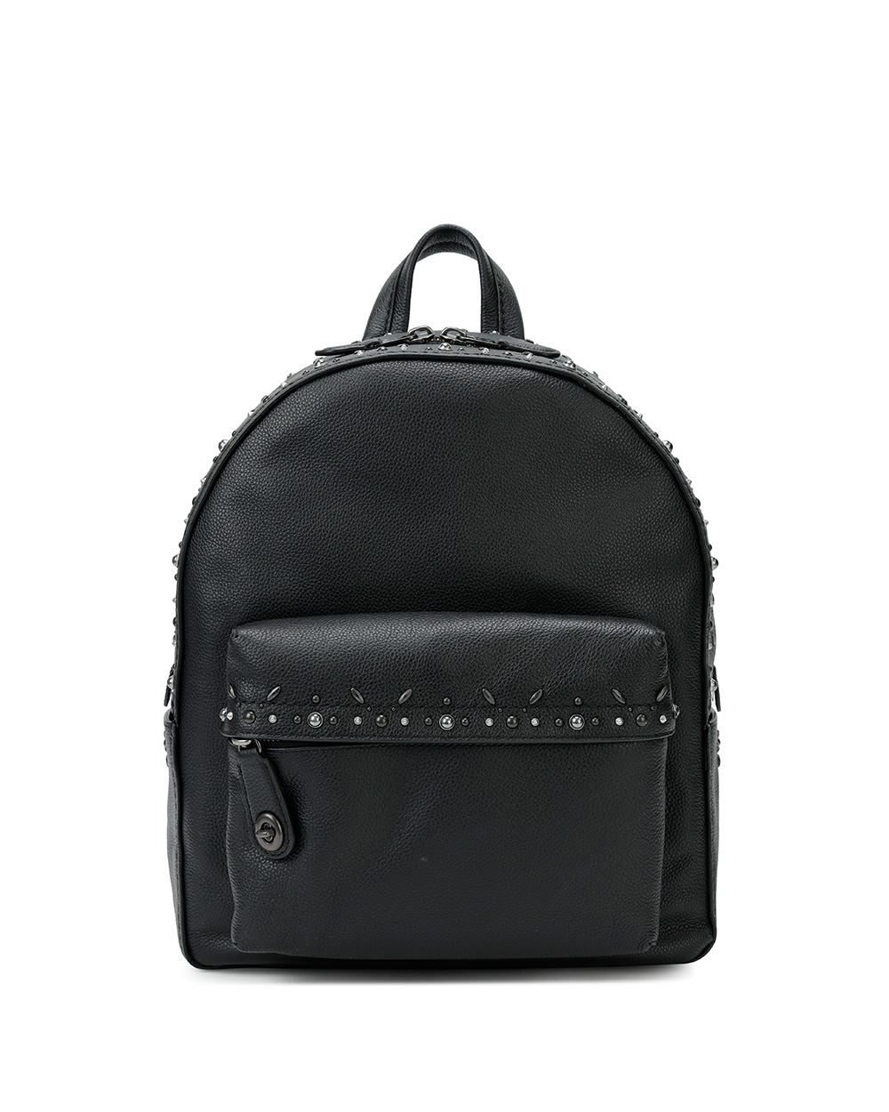 Leather Rivets Backpack