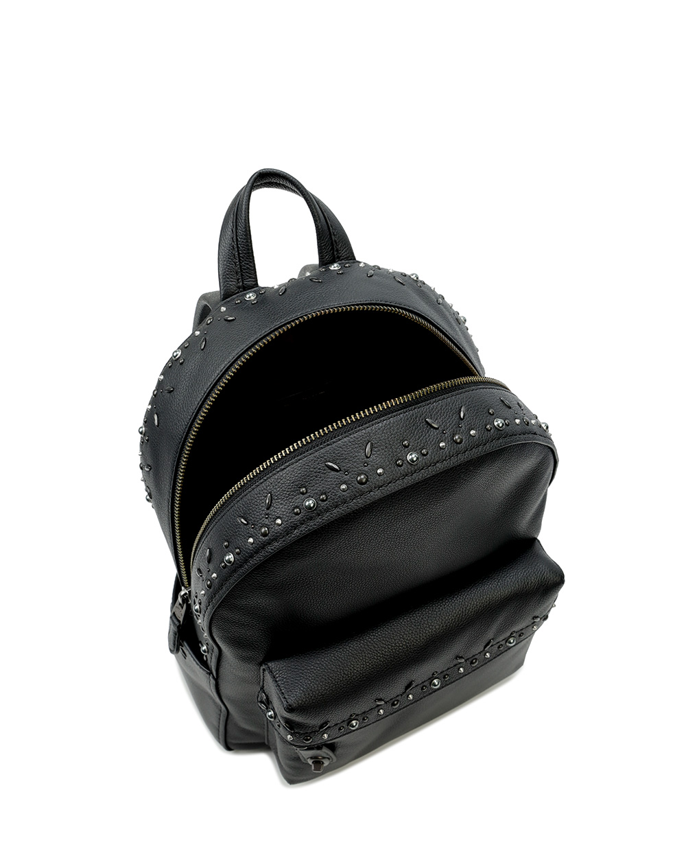Leather Rivets Backpack 1