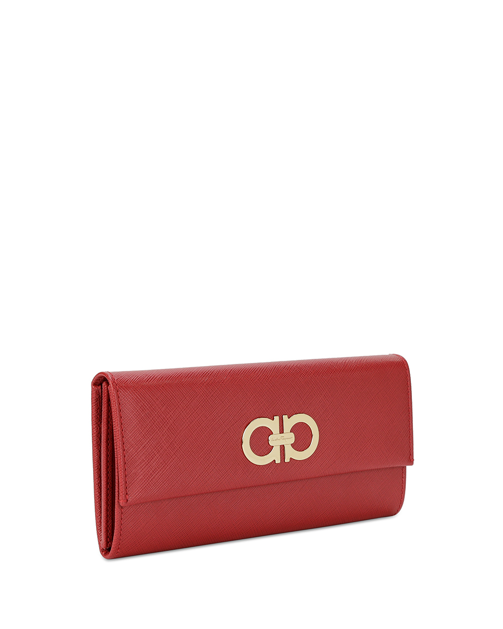 Logo Leather Long Wallet 3