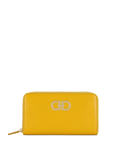 Gancini Zip Around Long Wallet