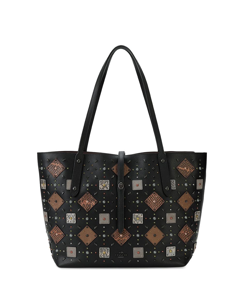MARKET TOTE Leather Tote Bag