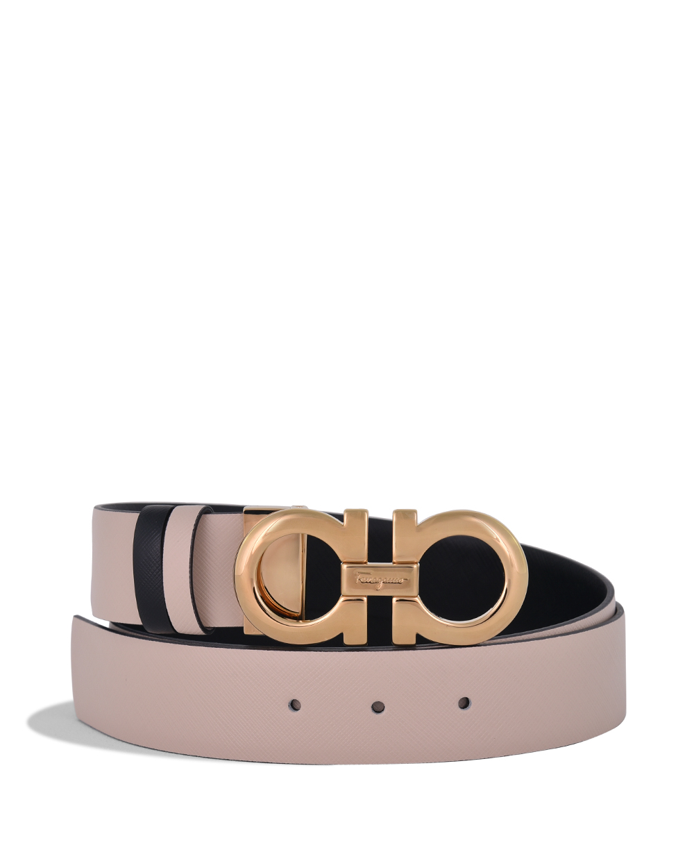 Reversible and Adjustable Gancini Belt