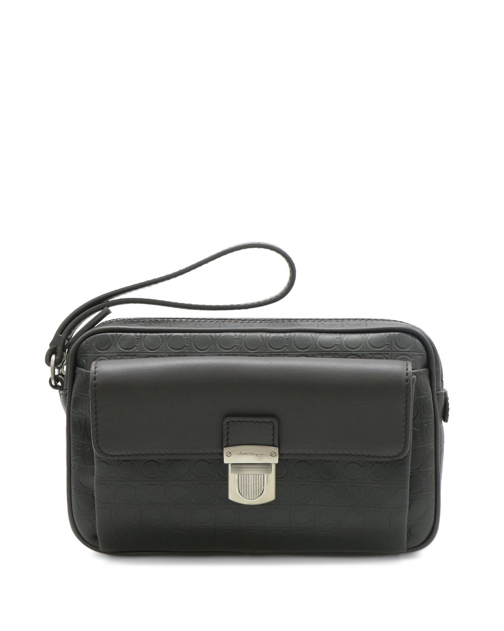 Embossed Leather Travel Bag