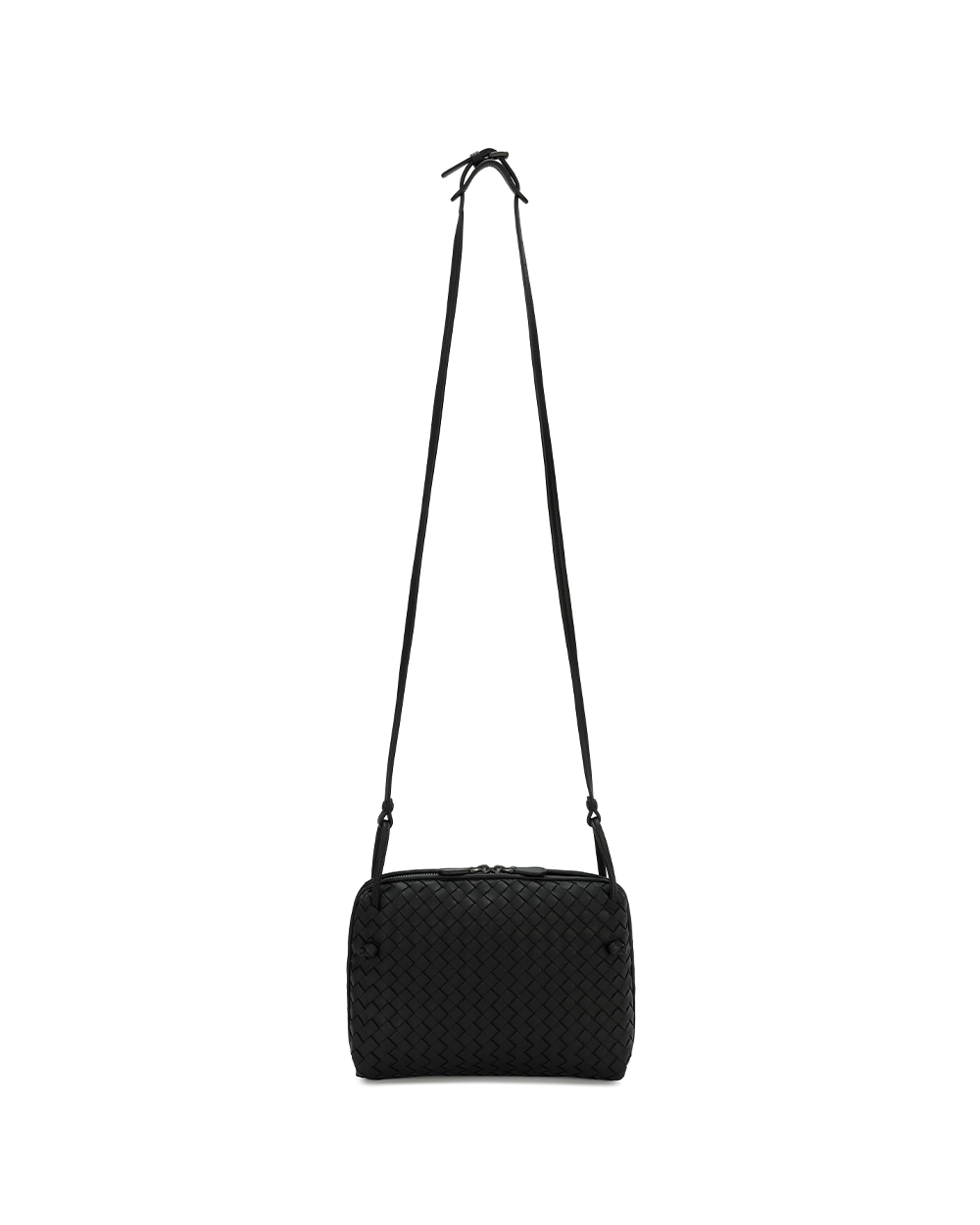 Leather Braided Shoulder Bag 1