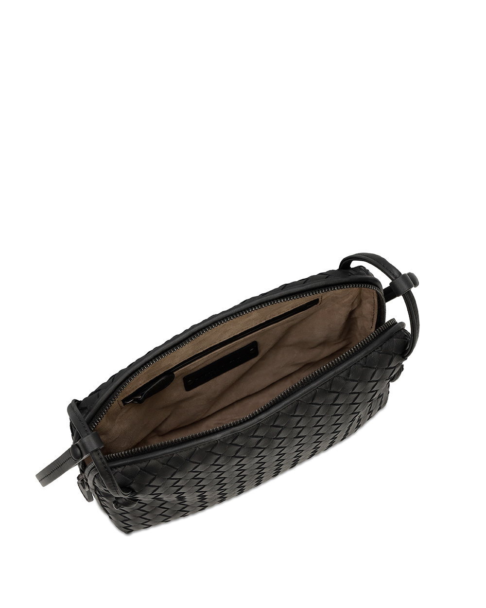 Leather Braided Shoulder Bag 2