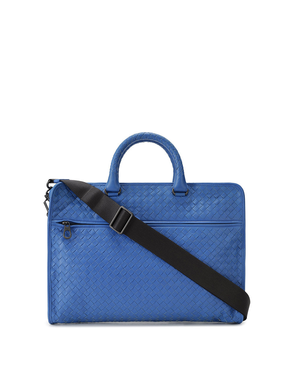 Intrecciato Calf Leather Briefcase