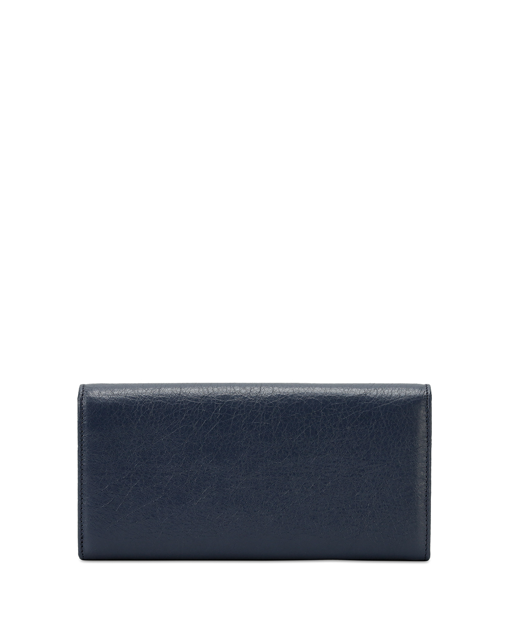 Button Leather Long Wallet 2