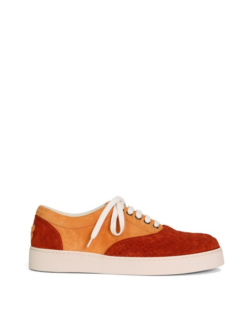 Woven Suede Sneakers