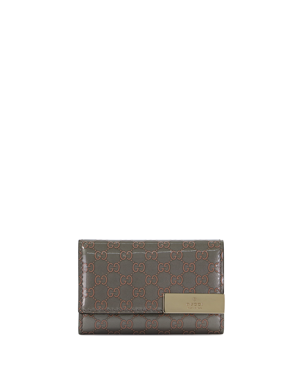 Microguccissima 6-hooked Leather Key Case