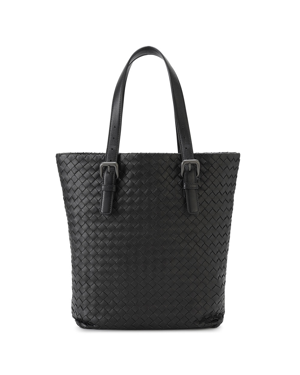 Woven Leather Tote bBag