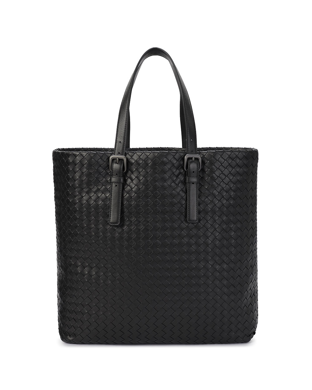 Woven Pattern Lamb Leather Handbag