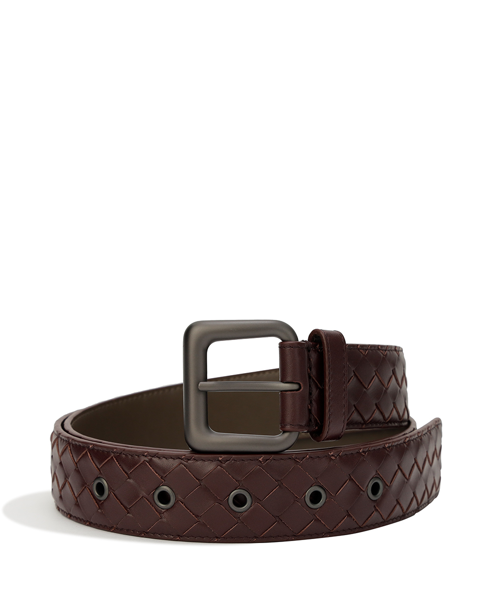 Braided Calf Leather Belt