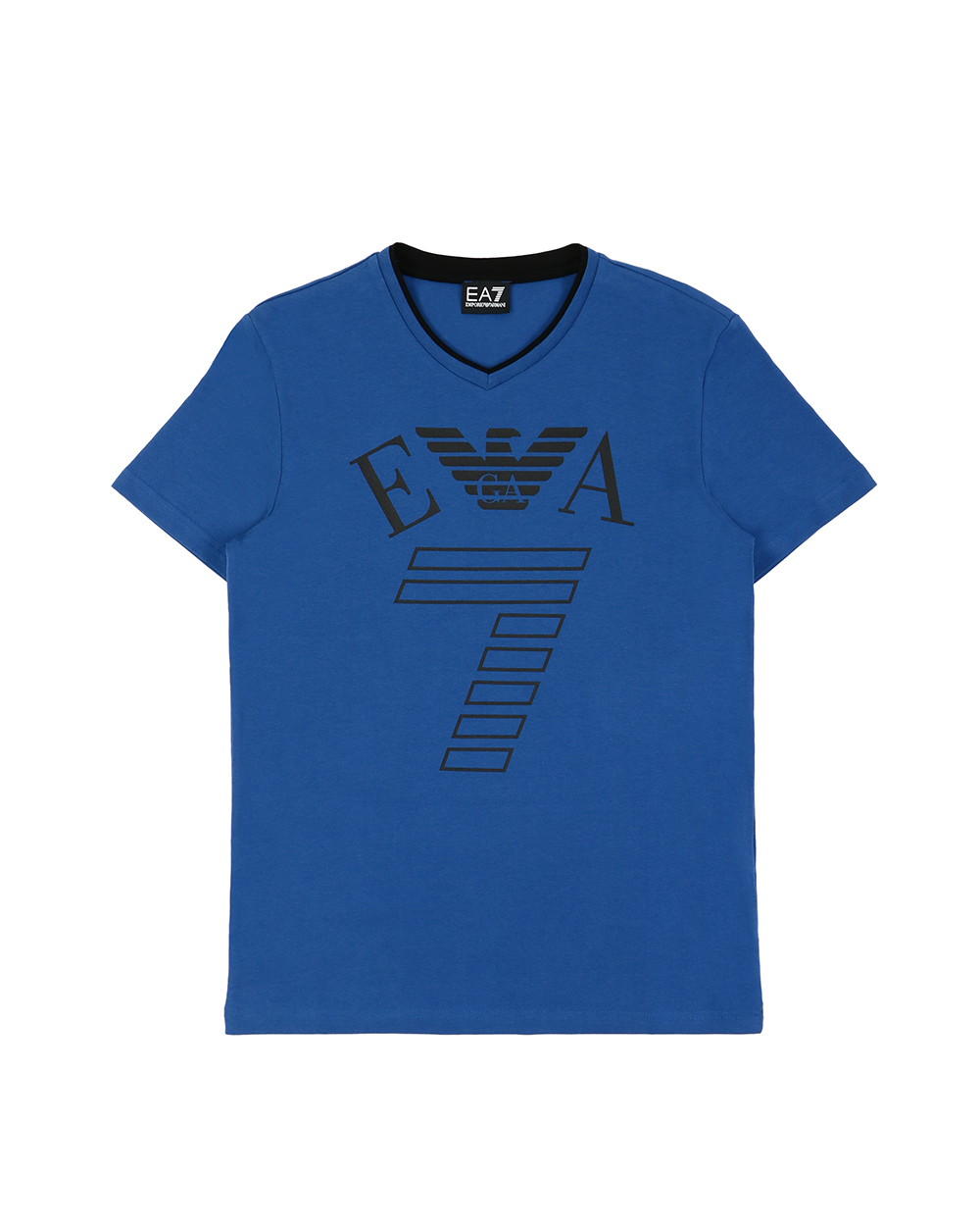 Logo Printed Round Neck Short Sleeved T-Shirt