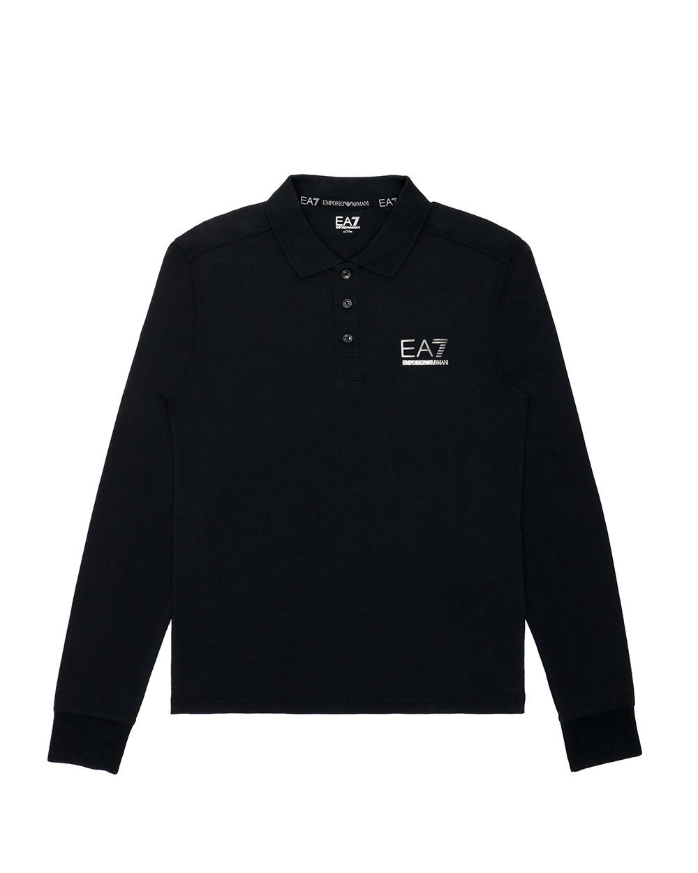 Cotton Long Sleeves Polo Shirt