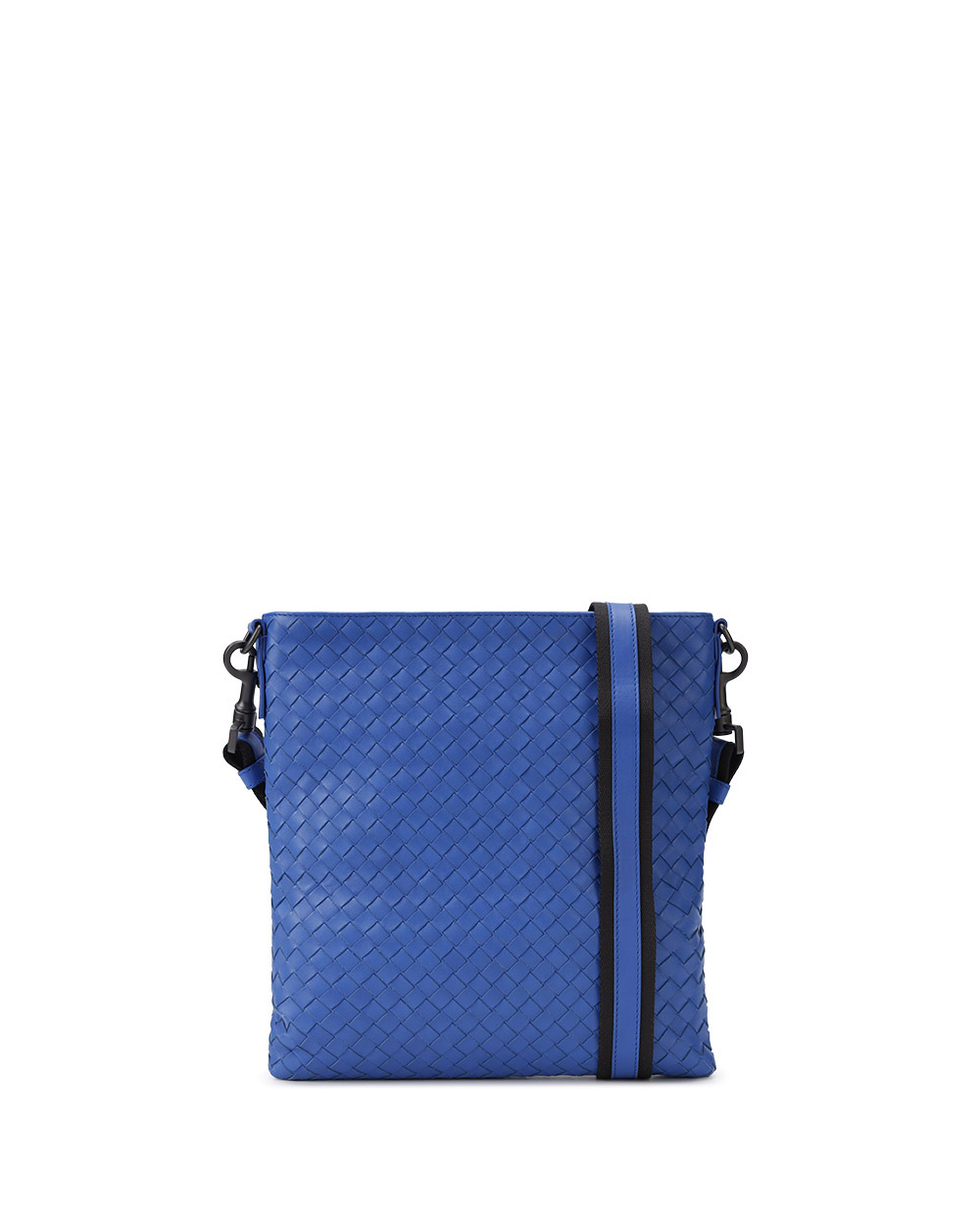 Woven Lamb Leather Shoulder Bag