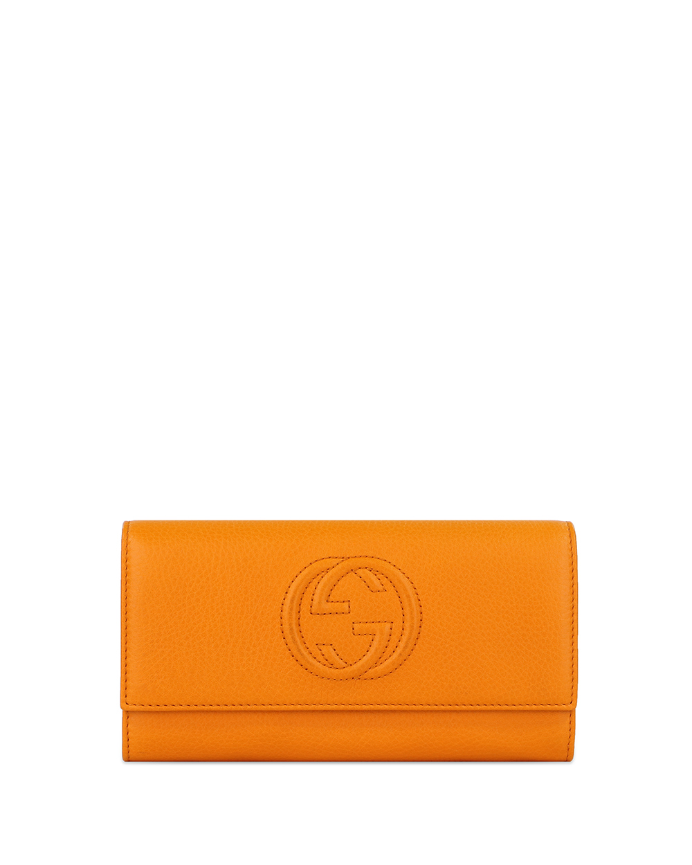 Double G Logo Continental Wallet