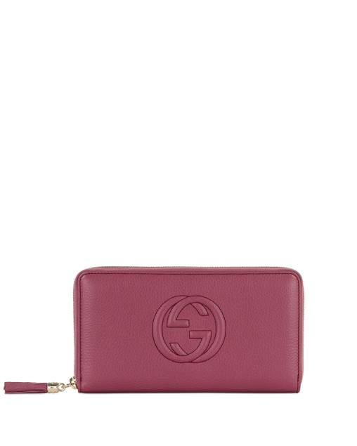 Double G Zip Around Long Wallet