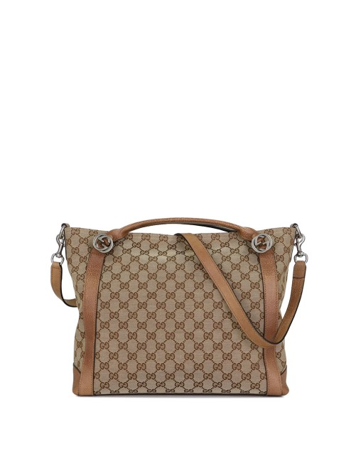 Miss GG Canvas Top Handle Bag