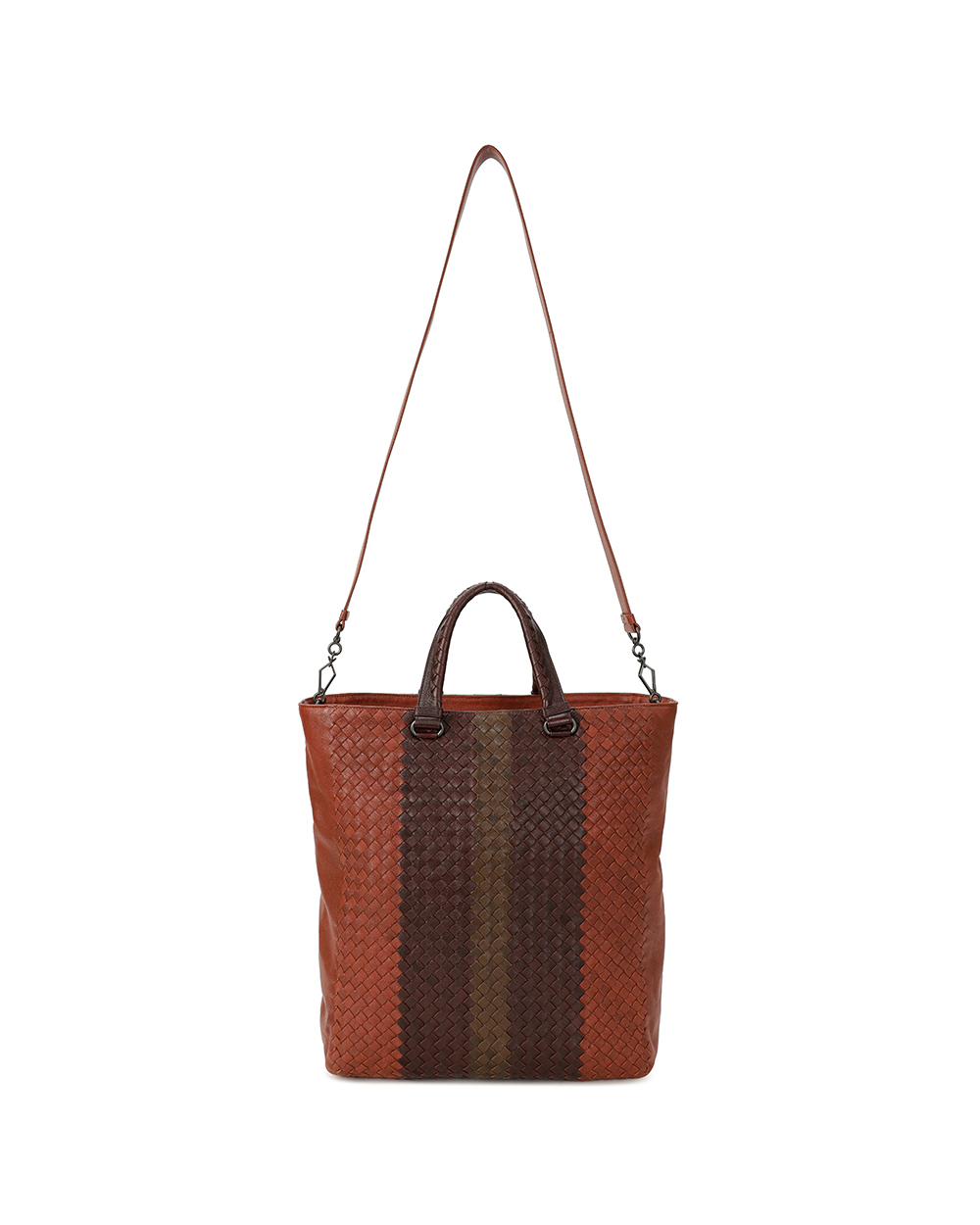 Woven Leather Handbag 1