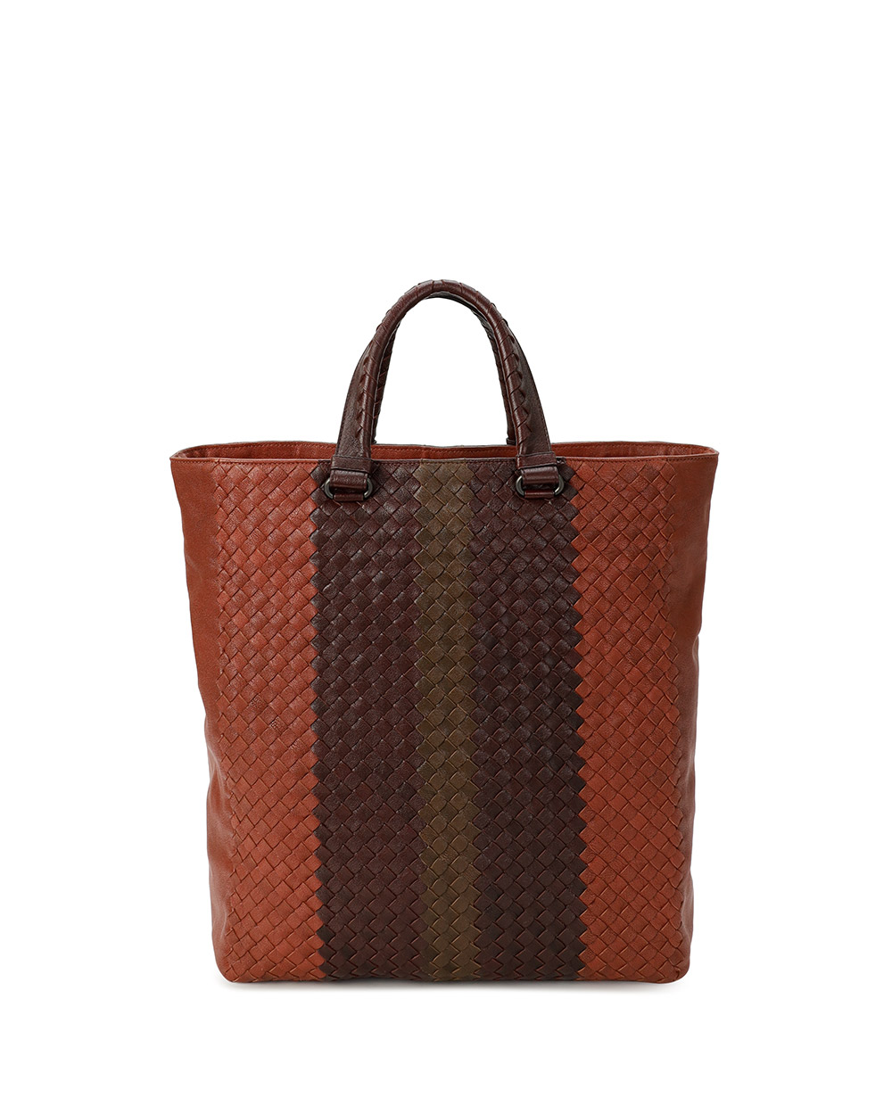 Woven Leather Handbag 4