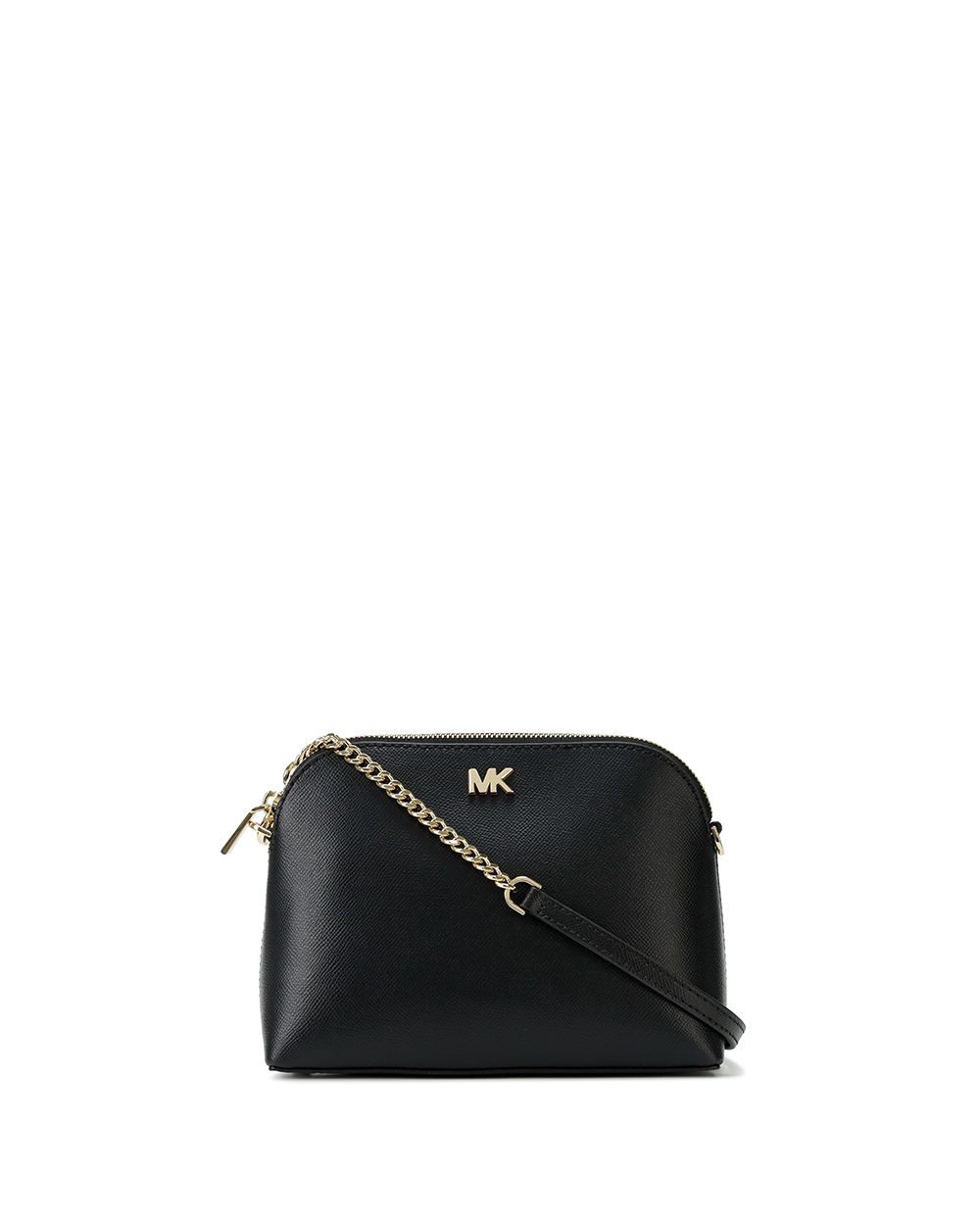 Leather Dome Crossbody Bag