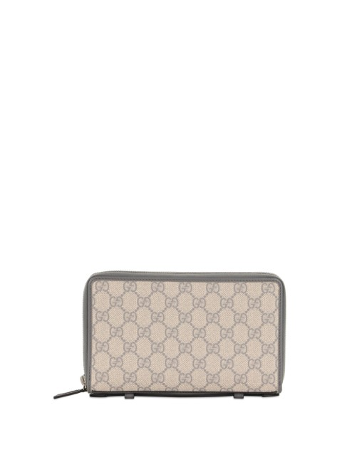 Double G Leather Clutch Bag