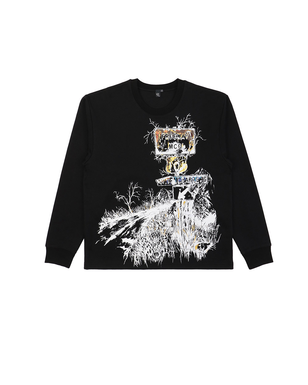 Printed Long-Sleeves Sweatshirt