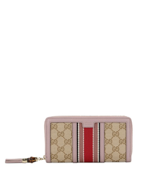 RANIA Canvas Long Wallet