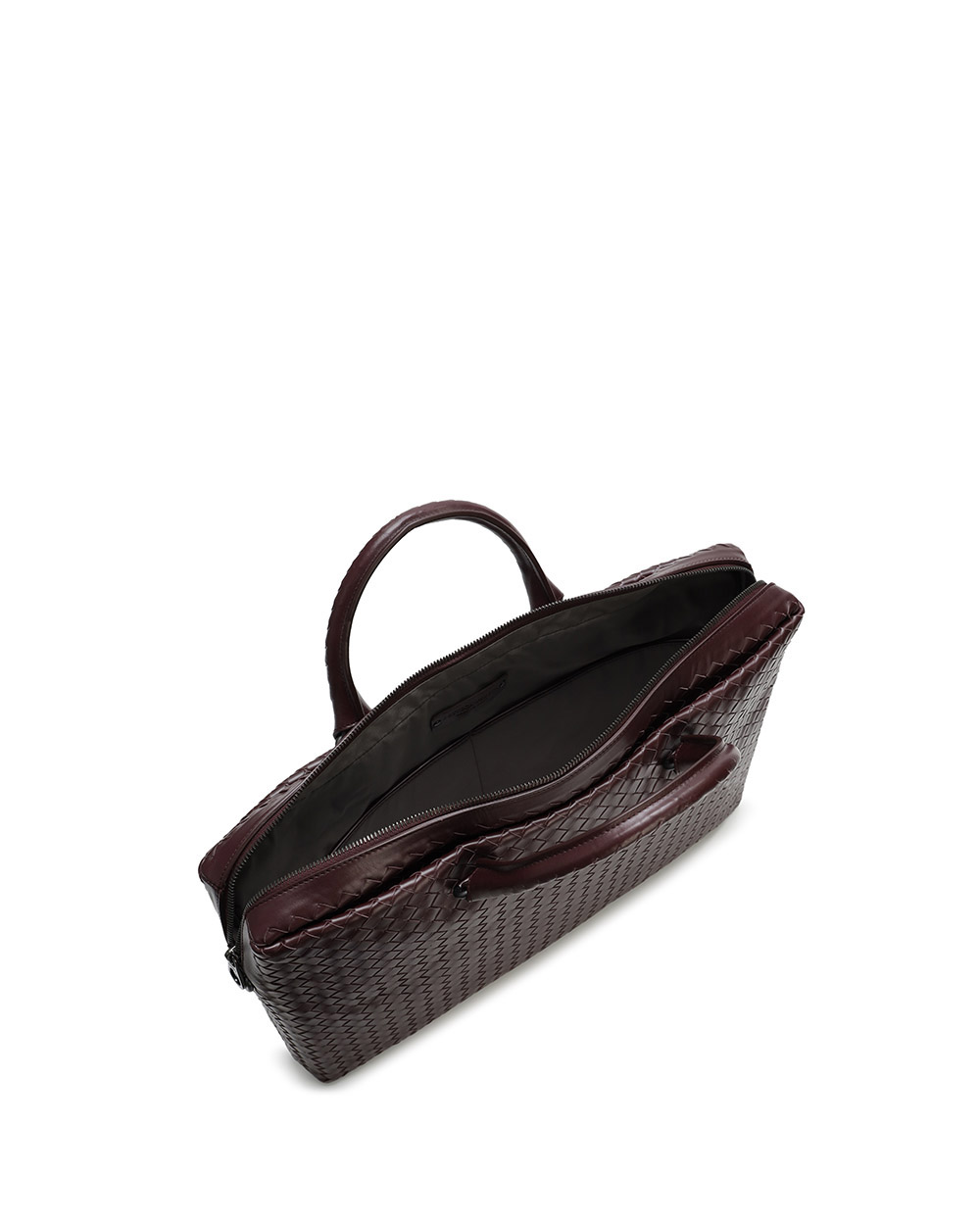 Woven Leather Briefcase 2
