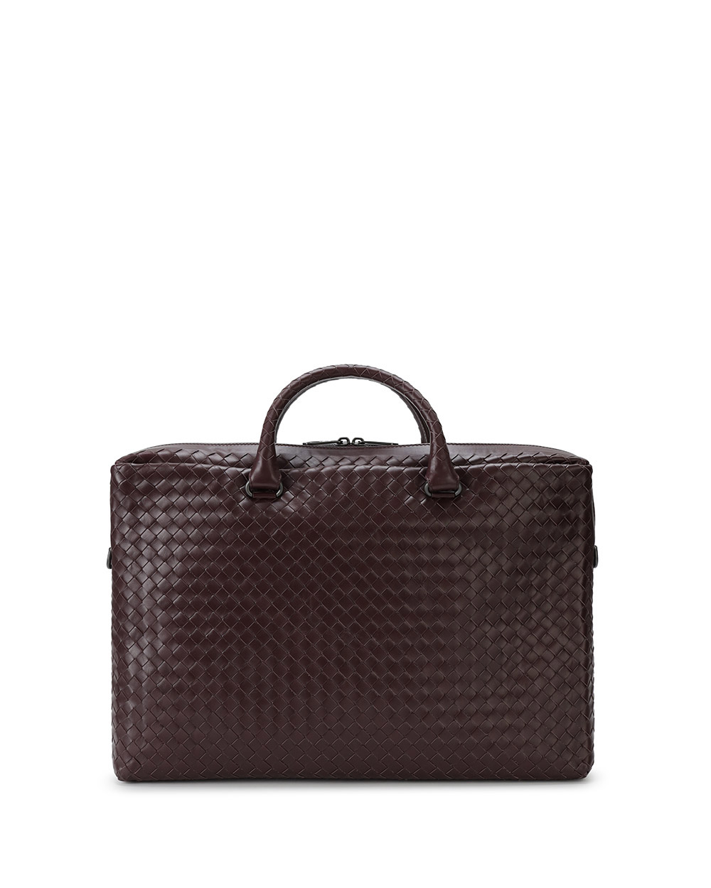 Woven Leather Briefcase 4