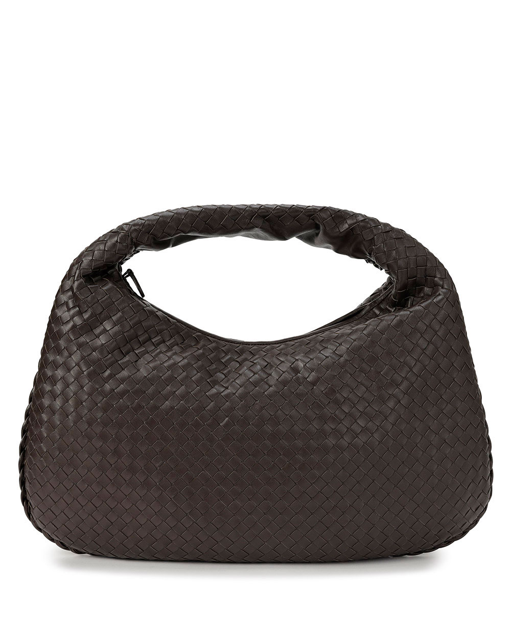 Woven Lamb Leather handbag