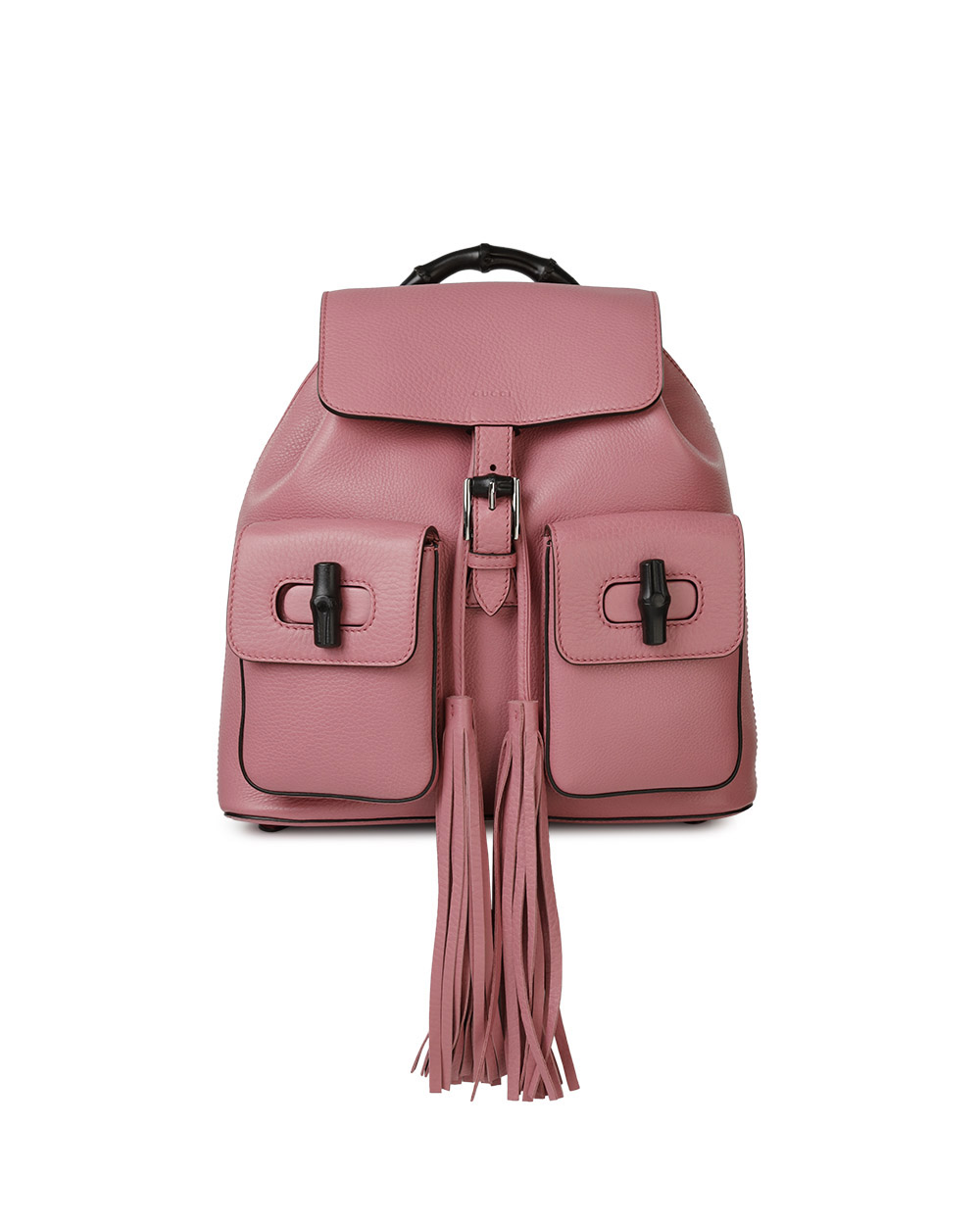 Leather Tassel Backpack