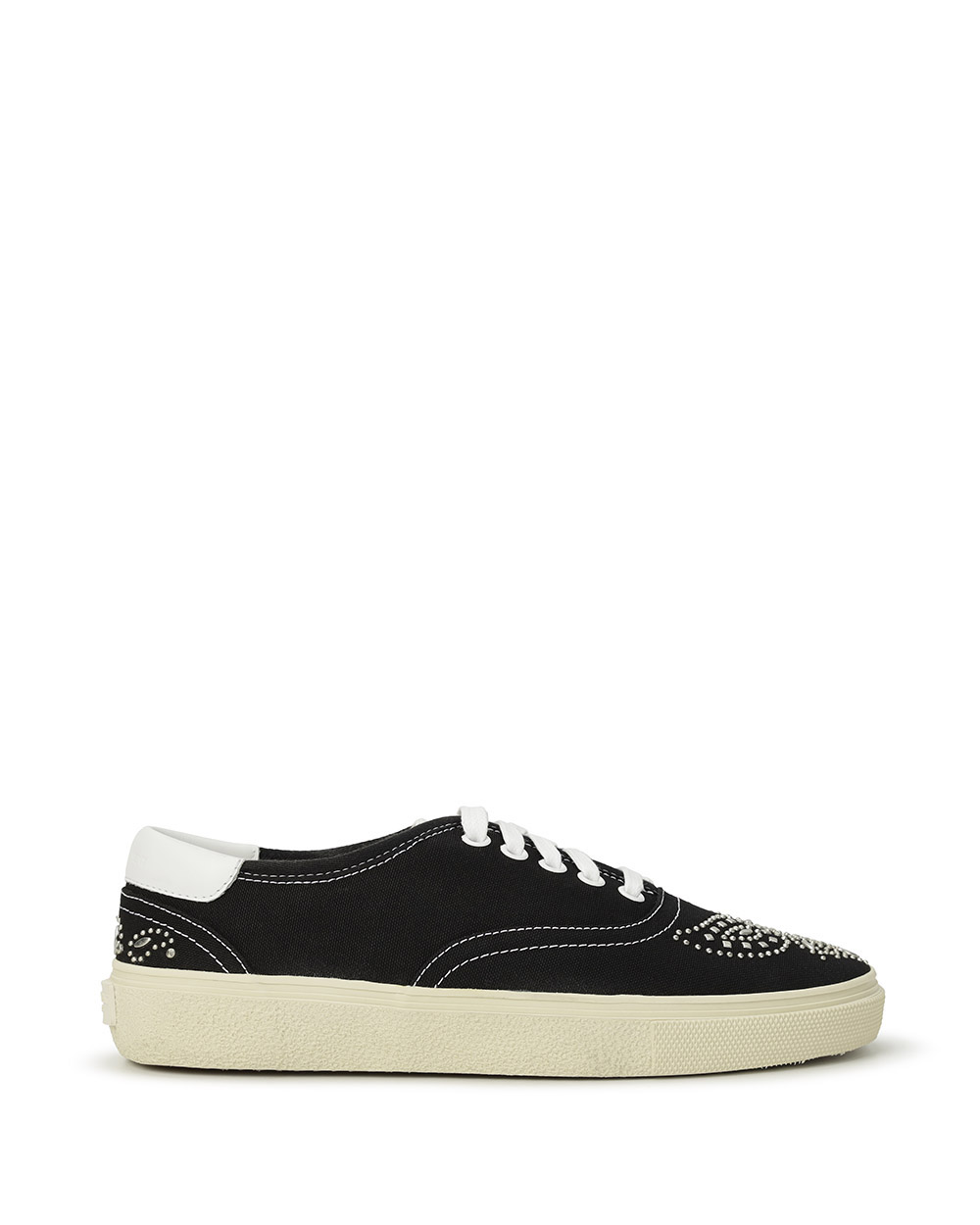 Studded Canvas Sneakers