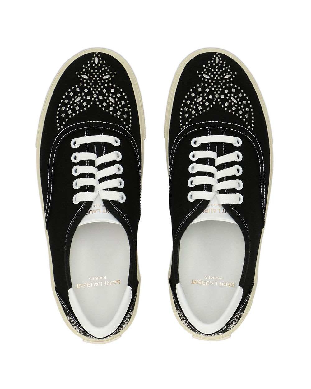 Studded Canvas Sneakers 3