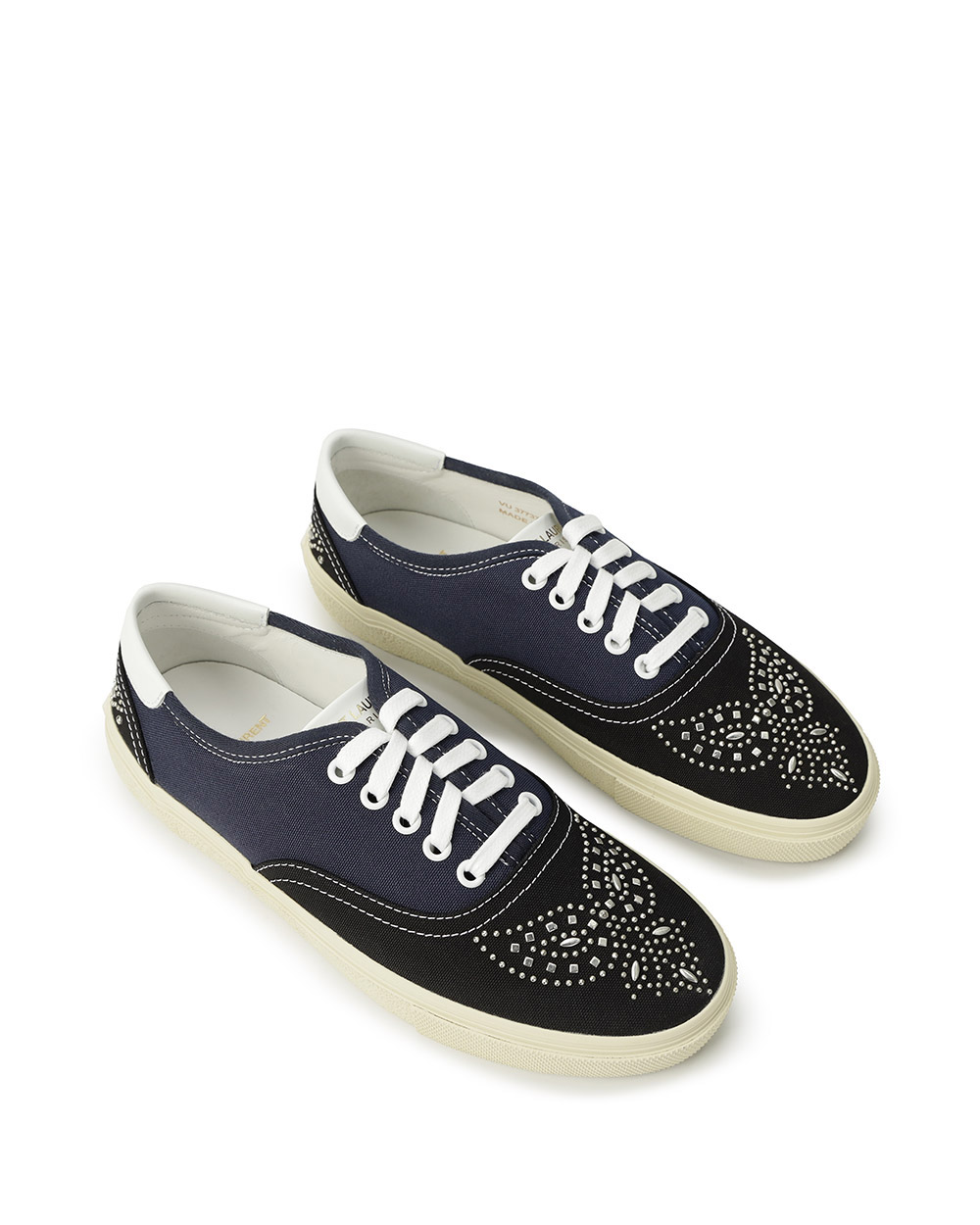 Studded Canvas Sneakers 1