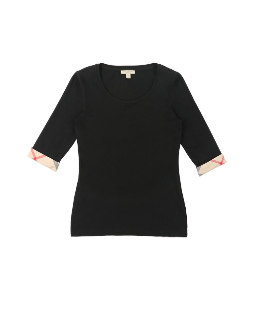 Cotton Middle Sleeves T-Shirt