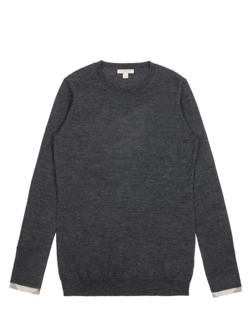 Round Neck Long Sweater