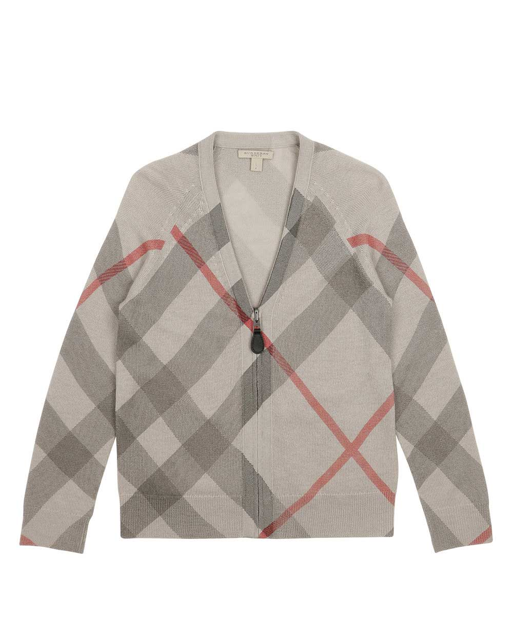 Classic Check Knitted Coat