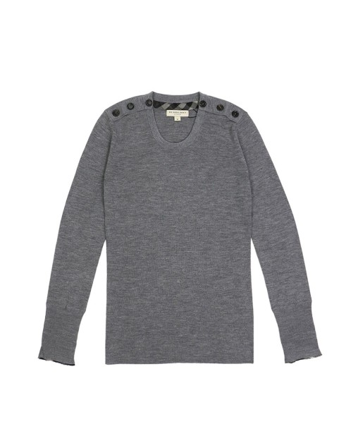 Buttoned Sweater