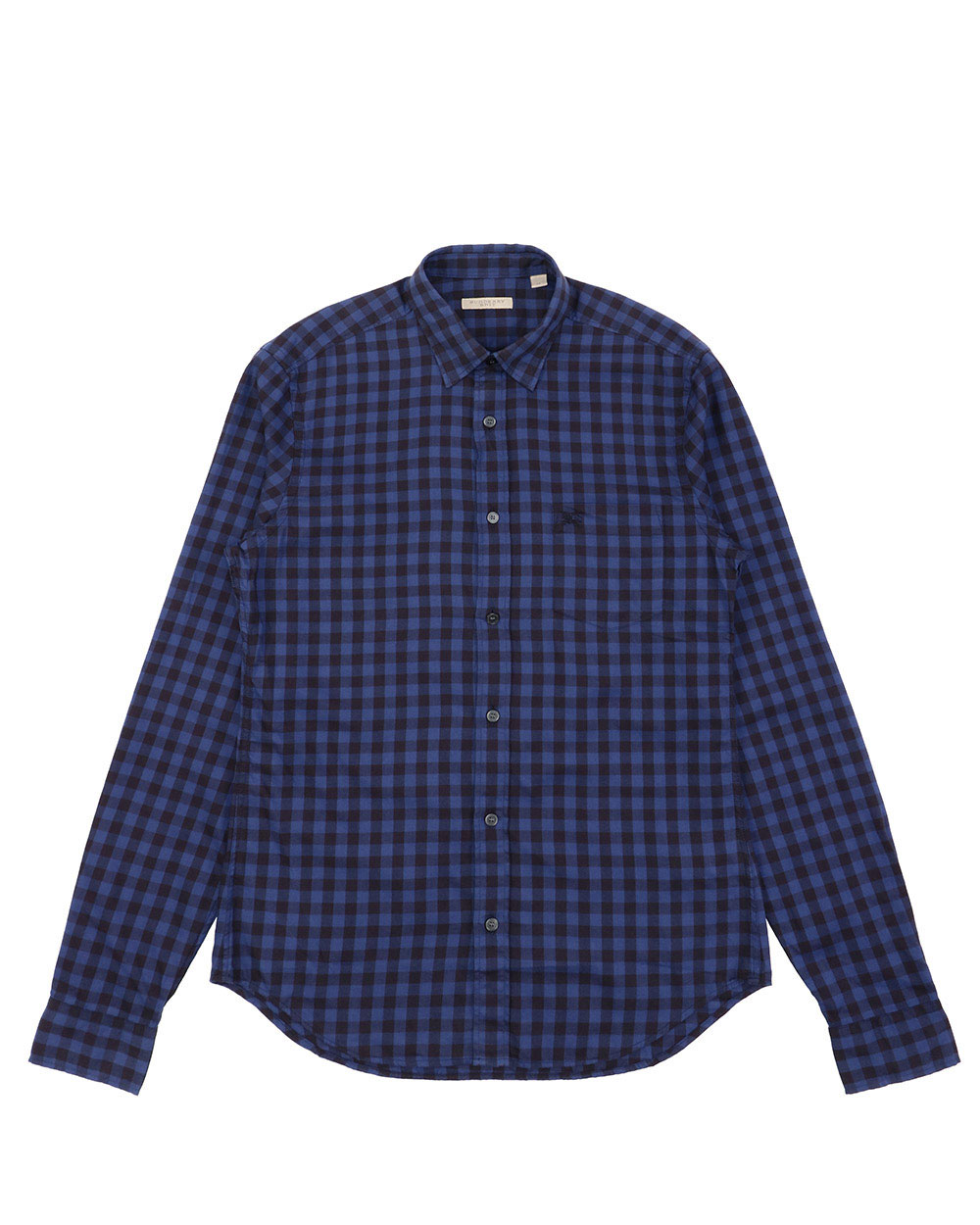 Check Cotton Long-Sleeves Shirt
